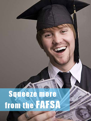 Grab more aid from the FAFSA if your parents are not graduate