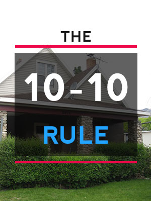 Apply the 10-10 home buying rule