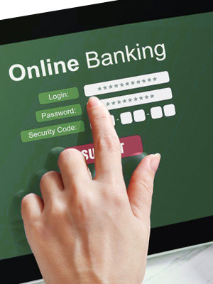 Bank online as much as you can