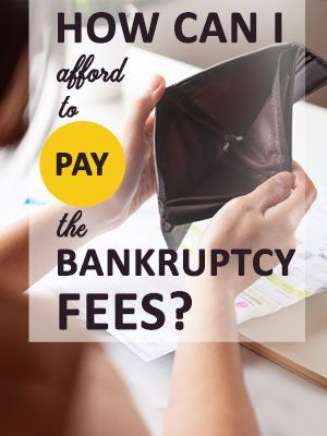 File Bankruptcy Without Paying Attorney Fees