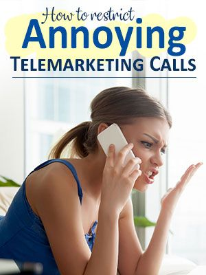 Stop Annoying Telemarketers