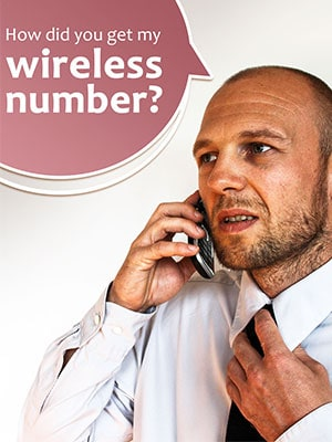 Debt Collector Calls You on Your Wireless Number Without Permission