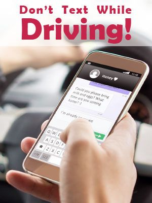Don't Text & Drive in Florida to Avoid Hefty Fines