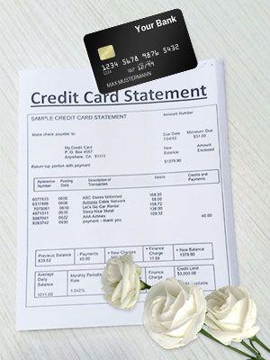 Deceased Person's Credit Card Debt
