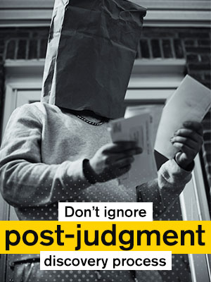 Cooperate With The Creditors In The Post-Judgment Discovery Process To Avoid Jail