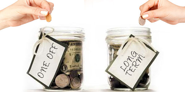Budgeting - In what way you can meet one-off expenses