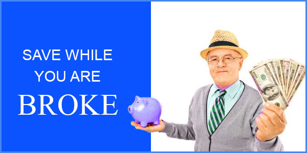 Nothing is impossible - You can really save for retirement even when you are broke