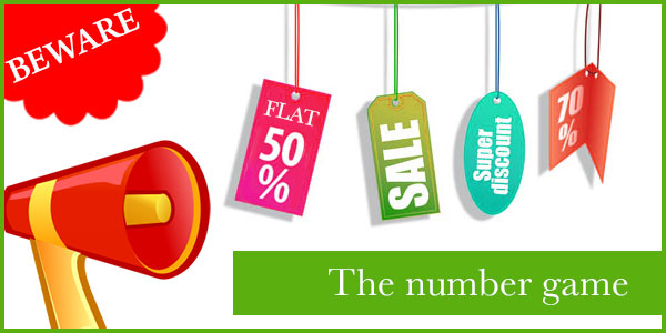 The number game – How retailers play this game to fool consumers
