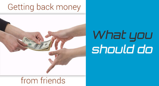 What should youths do to get back money from friends without a lawsuit?