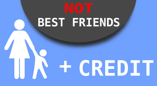 Why single parents and credit are not best friends