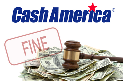 Payday lender Cash America fined for violating debt collection laws
