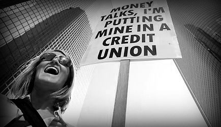 Why credit unions find more favor with consumers than the banks?
