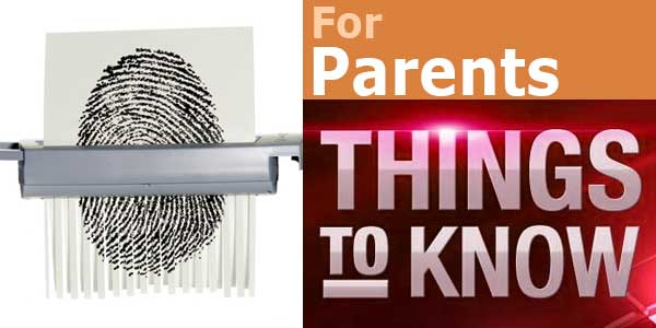 Things parents should know to prevent identity theft of their kids