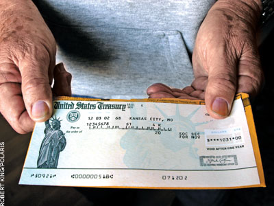 Can a debt collector seize your social security?