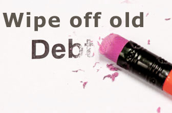 How to wipe off old debts from your credit report