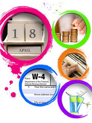 april financial to-do