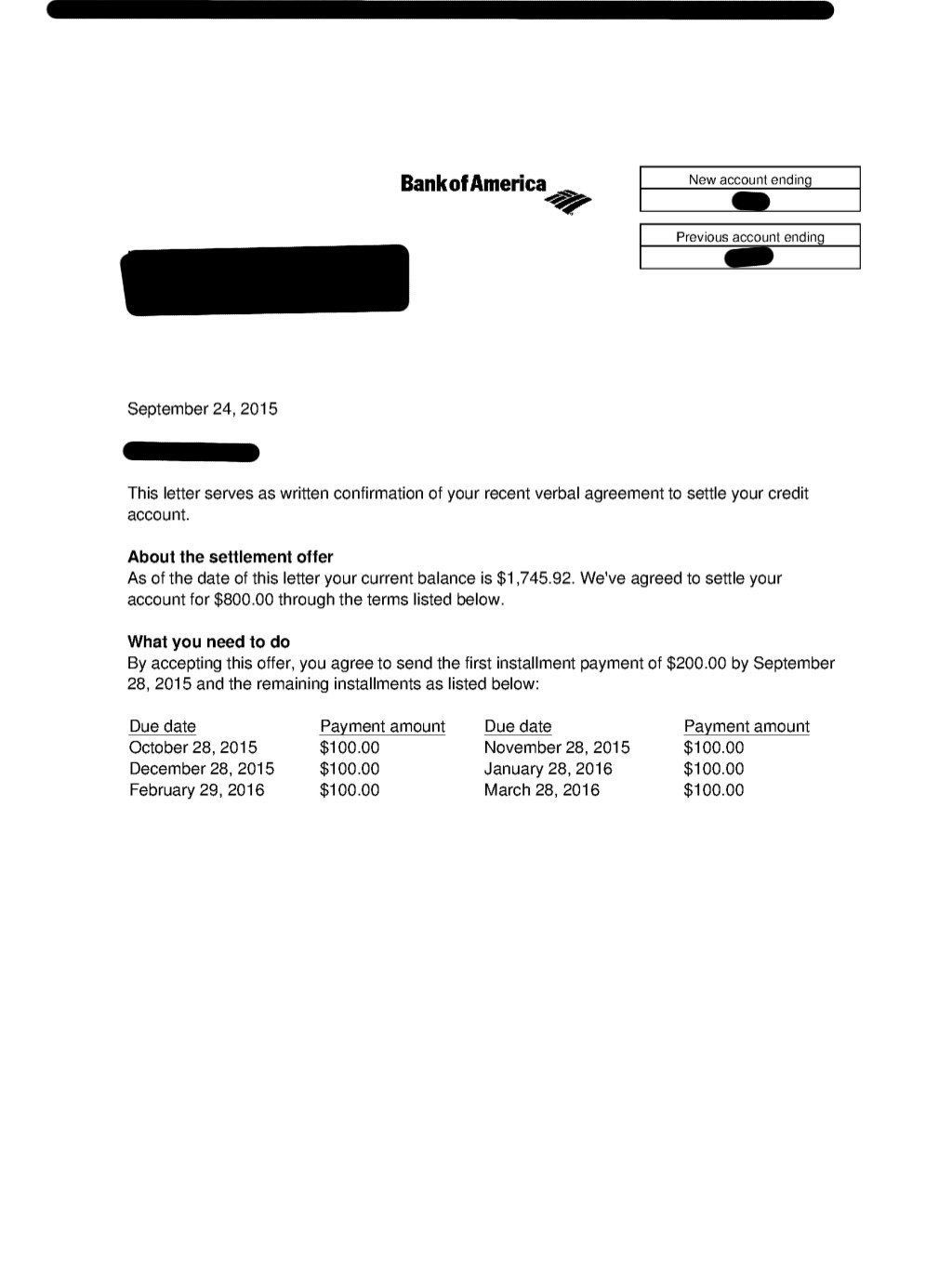 Client KD from RI saved $7645 37 by settling Credit Card and