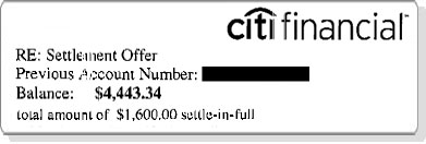 SS  Saved  $2843.34 with Citifinancial
