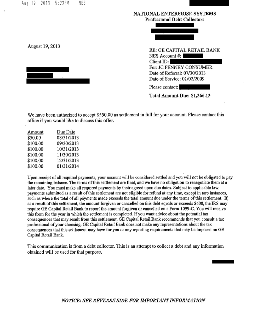 Debtors confirmation template free software and for Debt negotiation letter template